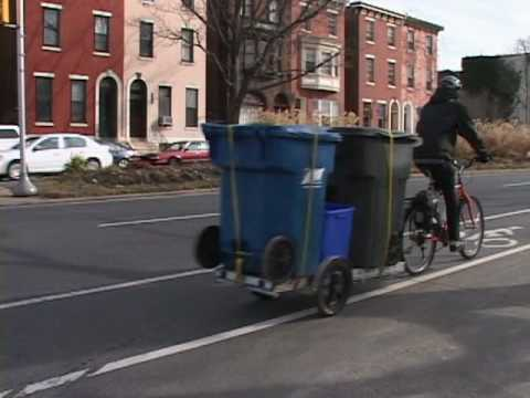 Community Composting and Recycling by Bike [VIDEO]