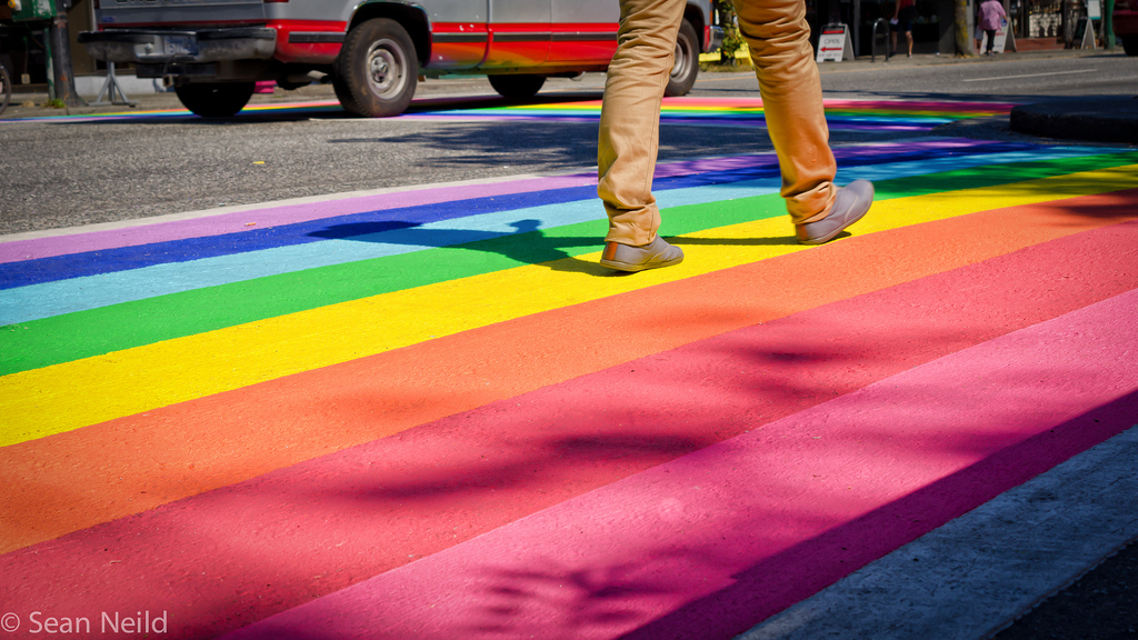 San Francisco Castro District Gets Rainbow Crosswalks